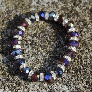 [5/$25] Multicolor Chameleon Bead Bracelet